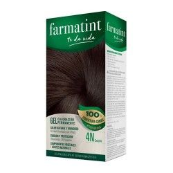 Farmatint Gel Coloración Permanente 4N Castaño