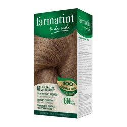 Farmatint Gel Coloración Permanente 6N Rubio Oscuro