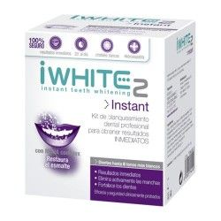 iWHITE 2 Instant Kit de Blanqueamiento Dental 10 Moldes