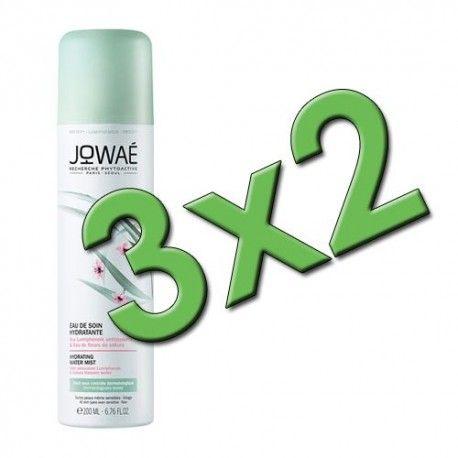 Jowaé Bruma de Agua Hidratante Spray 200 ml. Pack 3x2