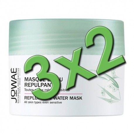 Jowaé Mascarilla de Agua Reconstituyente 50 ml. Pack 3x2