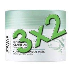 Jowaé Mascarilla Mineral Clarificante 50 ml. Pack 3x2