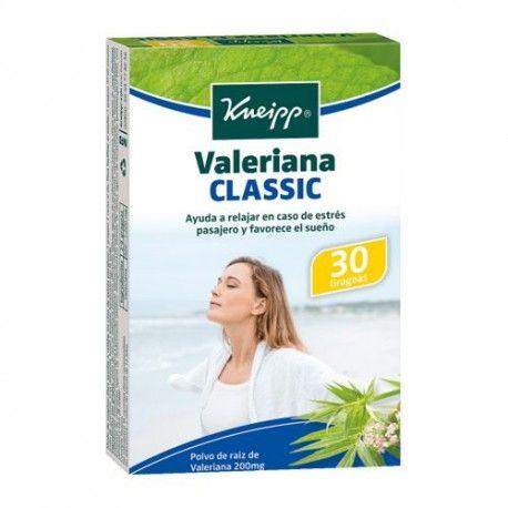 Kneipp Valeriana Classic 30 Grageas