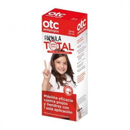 OTC Antipiojos Fórmula Total Spray Sin Insecticida 125 ml.
