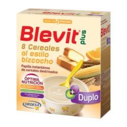 Blevit Plus Duplo 8 Cereales al Estilo Bizcocho 600 gr.