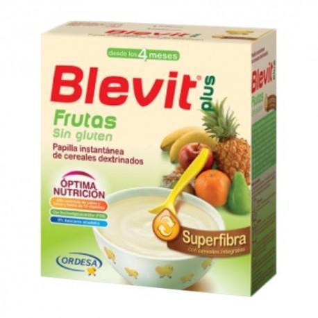 Blevit Plus Superfibra Frutas Sin Gluten 600 gr.