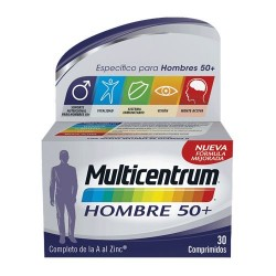 Multicentrum Hombre 50+ 30 Comprimidos