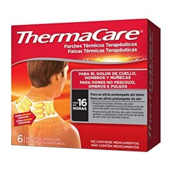 ThermaCare Parches Térmicos Cuello, Hombros y Muñecas 6 Unidades