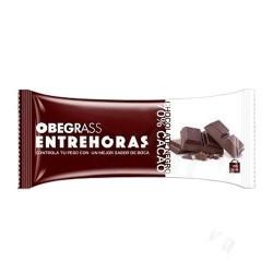 Obegrass Entrehoras Barrita Chocolate Negro 30 gr.
