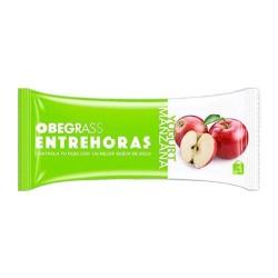 Obegrass Entrehoras Barrita Yogur con Manzana 30 gr.