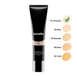 Sensilis Neverending Make-Up Maquillaje Fluido Antiedad SPF 15+ 01 Amande 30 ml.