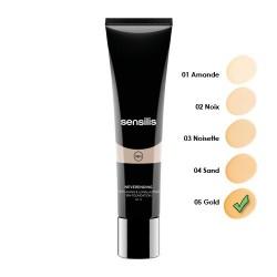 Sensilis Neverending Make-Up Maquillaje Fluido Antiedad SPF 15+ 05 Gold 30 ml.