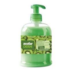 AcofarDERM Jabón de Manos Células Frescas de Kiwi 500 ml.