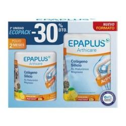 Epaplus Ecopack Arthicare Colágeno + Silicio + Ac. Hialurónico + Magnesio Sabor Limón 2x334 gr.