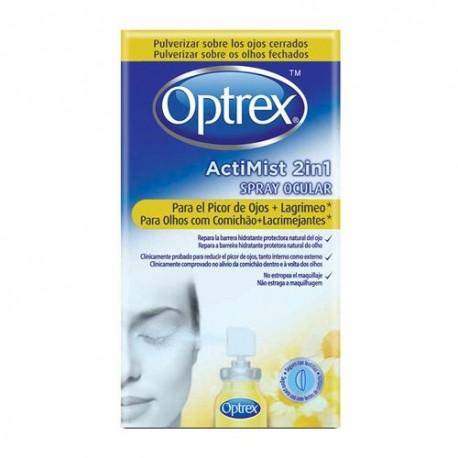 Optrex ActiMist 2in1 Spray Ocular Picor de Ojos + Lagrimeo 10 ml.