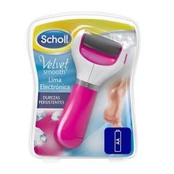 Scholl Velvet Smooth Lima Electrónica Durezas Persistentes 1 Unidad