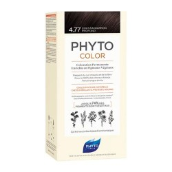 Phytocolor Coloración Permanente 4.77 Castaño Claro Marrón