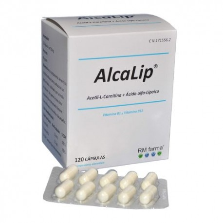 ALCALIP 120 CAPS. 750 MG