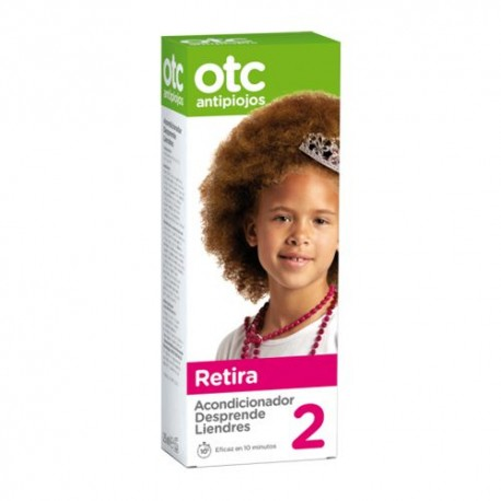 OTC Antipiojos 2 Retira Acondicionador Desprende Liendres 125 ml.