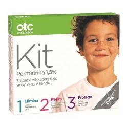 OTC Antipiojos Kit 1 2 3 Permetrina 1,5%