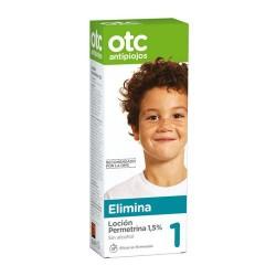 OTC Antipiojos 1 Elimina Loción Permetrina 1,5% 125 ml.