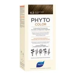 Phytocolor Coloración Permanente 6.3 Rubio Oscuro Dorado