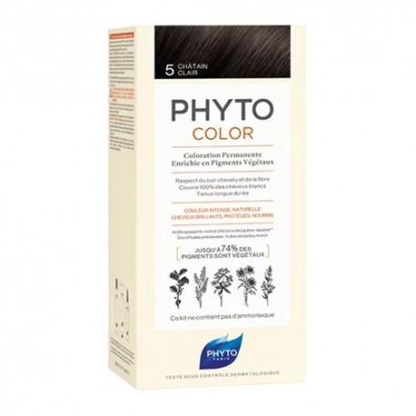 Phytocolor Coloración Permanente 5 Castaño Claro