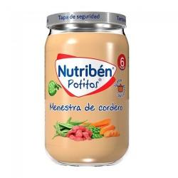 Nutribén Potitos Menestra de Cordero 235 gr.