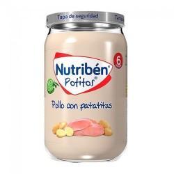 Nutribén Potitos Pollo Con Patatitas 235 gr.
