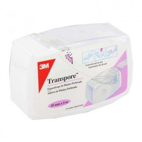 ESPARADRAPO TRANSPORE PLASTICO 5 X 2,5 DISPEN