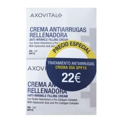 Axovital Pack Tratamiento Antiarrugas Duplo Crema Día 50 ml.