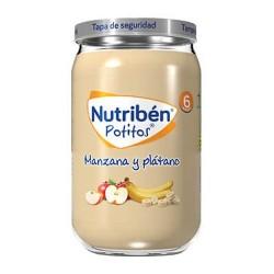 Nutribén Potitos Manzana y Plátano 235 gr.
