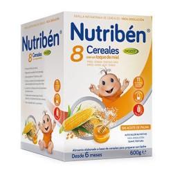 Nutribén 8 Cereales Con Un Toque de Miel Digest 600 gr.