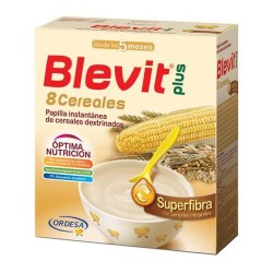Blevit Plus Superfibra 8 Cereales 600 gr.