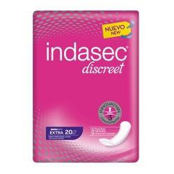 Indasec Discreet Compresas Extra 20 Unidades