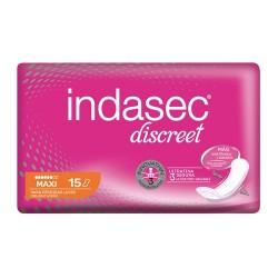 Indasec Discreet Compresas Maxi 15 Unidades