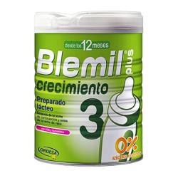 Blemil Plus 3 Crecimiento 0% Azúcares Añadidos 800 gr.