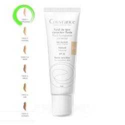 Avene Couvrance Maquillaje Fluido Oil-Free 1.0 Porcelana SPF20+ 30 ml.