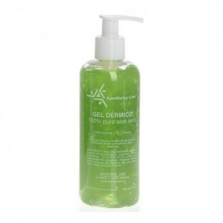 Apotheke Line Gel Dérmico 100% Puro Aloe Vera 250 ml.