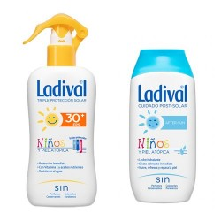 LADIVAL NIÑOS SPF30 SPRAY 200ML+AFTER DUPLO