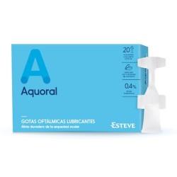 Aquoral Gotas Oftálmicas Lubricantes 0,5 ml. 20 Monodosis