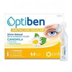 Optiben Ojos Irritados Colirio 10 Ampollas Unidosis