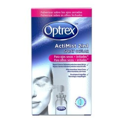 Optrex Actimist 2 en 1 Spray Ojos Secos + Irritados 10 ml.