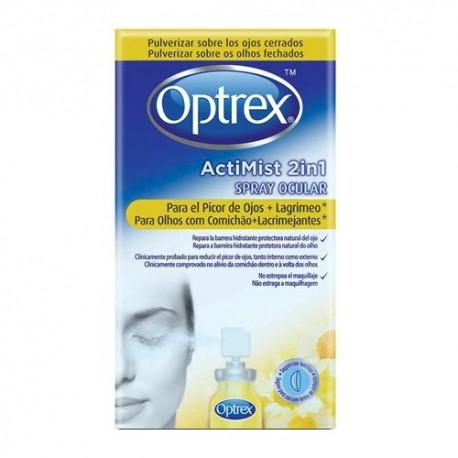 Optrex Actimist 2 in 1 Picor de Ojos + Lagrimeo 10 ml.