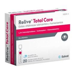 Relive Total Care Gotas Oftálmicas Lubricantes 20 Ampollas