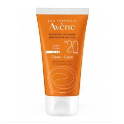Avene Solar Crema SPF20+ 50 ml.