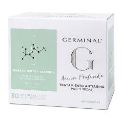 Germinal Acción Profunda Tratamiento Antiaging Pieles Secas 30 Ampollas