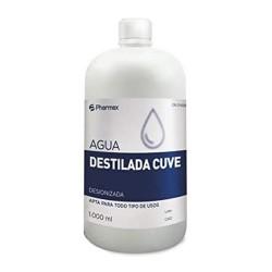 CUVE AGUA DESTILADA 1000 CC