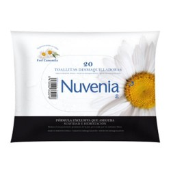 TOALLITAS DESMAQUILL NUVENIA INDAS 20 UD