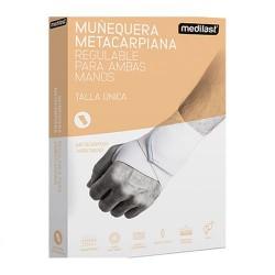 MUÑEQUERA MEDILAST METACAR.VELCR BLANCA R.813